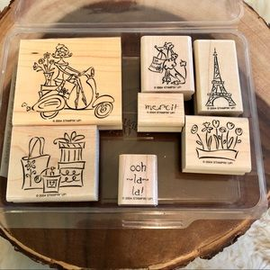 Stampin Up Paris in Spring